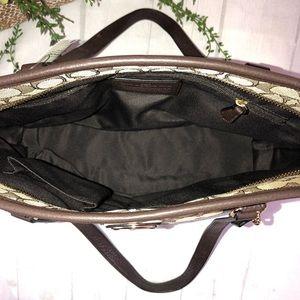 Coach Bags - Tote Coach NWT Signature Zip Top Shoulder Bag